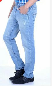 Mens Relaxed Fit Denim Jeans