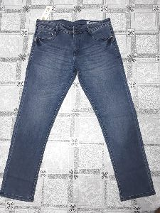 Mens Slim Fit Non Denim Jeans