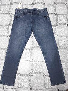 Mens Slim Fit Non Denim Jeans