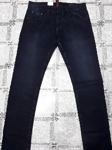 Mens Straight Fit Denim Jeans