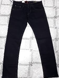 Mens Straight Fit Non Denim Jeans