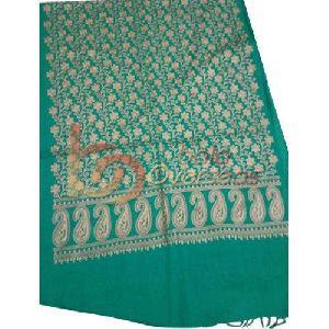 Golden Embroidery Woolen Shawls