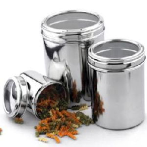 Canisters with See Through Lids