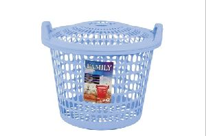 Family Laundry Basket with Lid