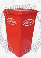 80 Liters Flat Lid  Dustbin