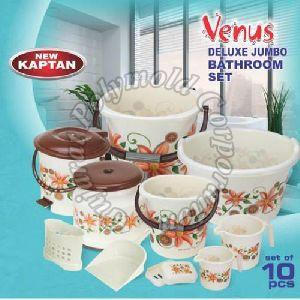 Jumbo Printed Venus Deluxe Bathroom Set