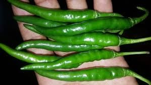 Natural Green Chilli