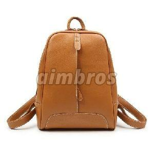 Girls Leather College Bag