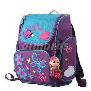 Girls Multicolor School Bag