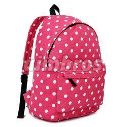 Girls Nylon School Bag