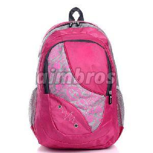 Girls Polyester College Bag