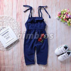Kids Cotton Jumpsuit