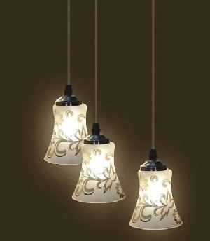 2995-C Printed Hanging Lamp