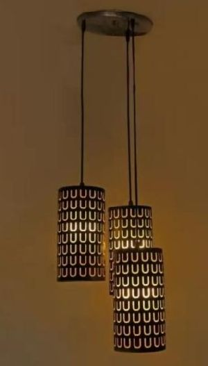 4220-C Brown Hanging Lamp