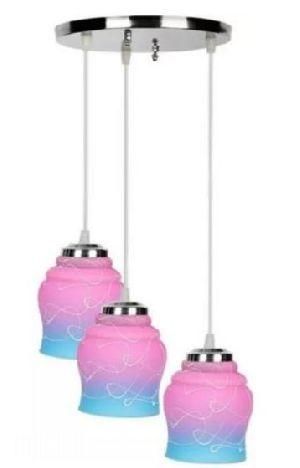 4220-C Pink Hanging Lamp