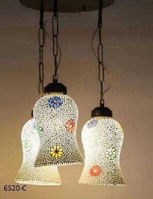 6520-C Printed Hanging Lamp