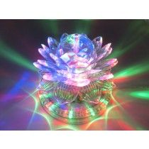 VOICE ACTIVATED LOTUS STAGE LIGHT