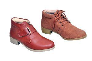 Short Heel Boots