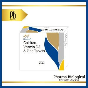 Calcium, Vitamin D3 & Zinc Tablet