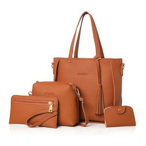 Ladies Brown Handbag