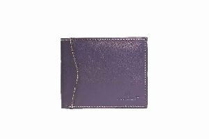 Genuine Leather Wallet Blue