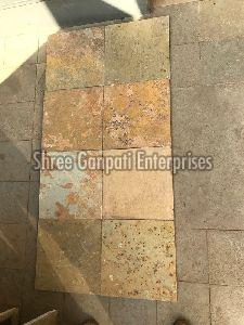 Brown Honey Kota Stone Tiles