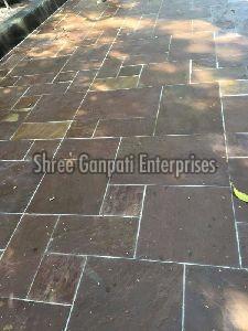 Red Mandana Kota Stone Tiles