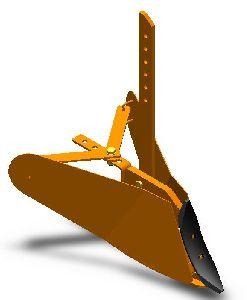 Adjustable Ridger