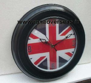 Wall Hanging Wooden Clock