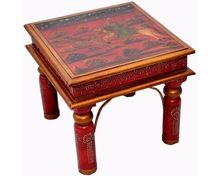 High Quality Antique Heritage Painted Coffee Table