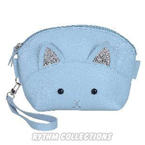 Ladies Fancy Blue Sling Bag