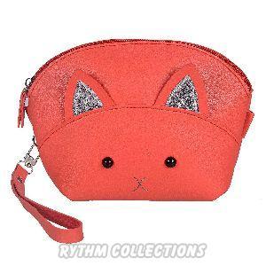 Ladies Fancy Red Sling Bag