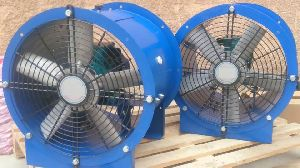 Axial Flow Fans With Drum Motor
