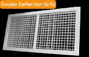 Double Deflection Air Grille
