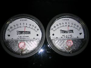 Sensocon Magnehelic Gages -50 To 50 MMWC