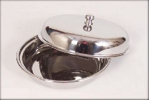 Stainless Steel Round Entree Dish