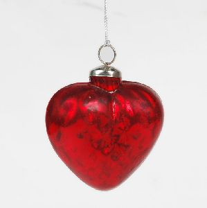 Christmas Glass Hanging Ornament