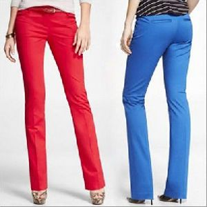 Cotton Ladies Trouser Fabric