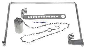 Charnley Retractor With Weight & Chain