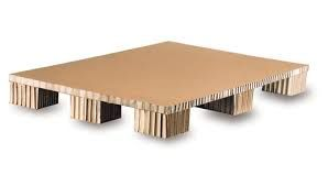 Flat Bottom Honeycomb Paper Pallet