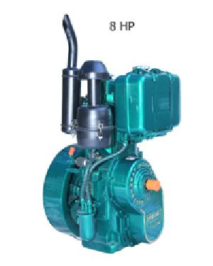 Single Cylinder Water Cooled Engine 01