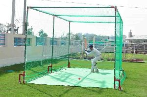 Cricket Netting Cage Movable (Front View)