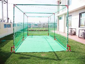 Cricket Netting Cage Movable  (Back View)