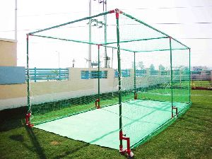 Cricket Netting Cage Movable  (Left View)