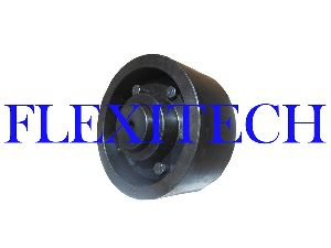 Brake Drum with Flexible Gear Coupling