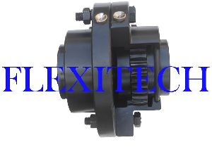Half Gear Half Rigid Coupling