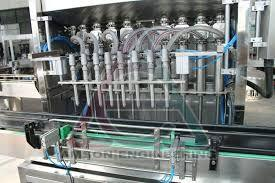 6 Head Automatic Linear Piston Filling Machine