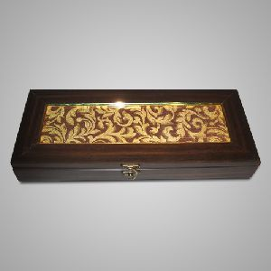 Wooden Metal Gift Box 02