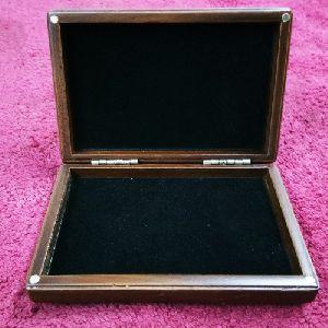 Wooden Metal Visiting Card Box 02