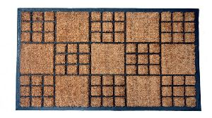 GERC104 rubberised coir mat